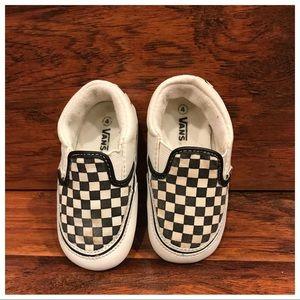 Vans Classic Infant Checker Slip-on Shoes